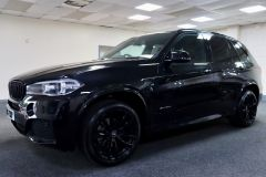BMW X5 XDRIVE 30D M SPORT + IMMACULATE + SAPPHIRE BLACK WITH COGNAC DAKOTA LEATHER +  - 1777 - 6