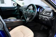 MASERATI GHIBLI D V6 + 1 OWNER FROM NEW + IMMACULATE + CREAM LEATHER +  - 1798 - 2