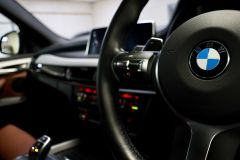 BMW X5 XDRIVE 30D M SPORT + IMMACULATE + SAPPHIRE BLACK WITH COGNAC DAKOTA LEATHER +  - 1777 - 39