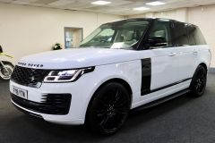 LAND ROVER RANGE ROVER TDV6 VOGUE + GLASS ROOF + IVORY LEATHER + 22 INCH ALLOYS +  - 1786 - 5