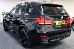 BMW X5 XDRIVE 30D M SPORT + IMMACULATE + SAPPHIRE BLACK WITH COGNAC DAKOTA LEATHER +  - 1777 - 8