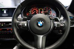 BMW X5 XDRIVE 30D M SPORT + IMMACULATE + SAPPHIRE BLACK WITH COGNAC DAKOTA LEATHER +  - 1777 - 33