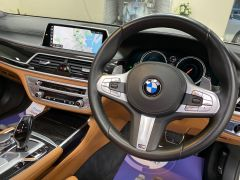 BMW 7 SERIES 740D XDRIVE M SPORT + SUNROOF + COGNAC EXCLUSIVE LEATHER + - 1422 - 42