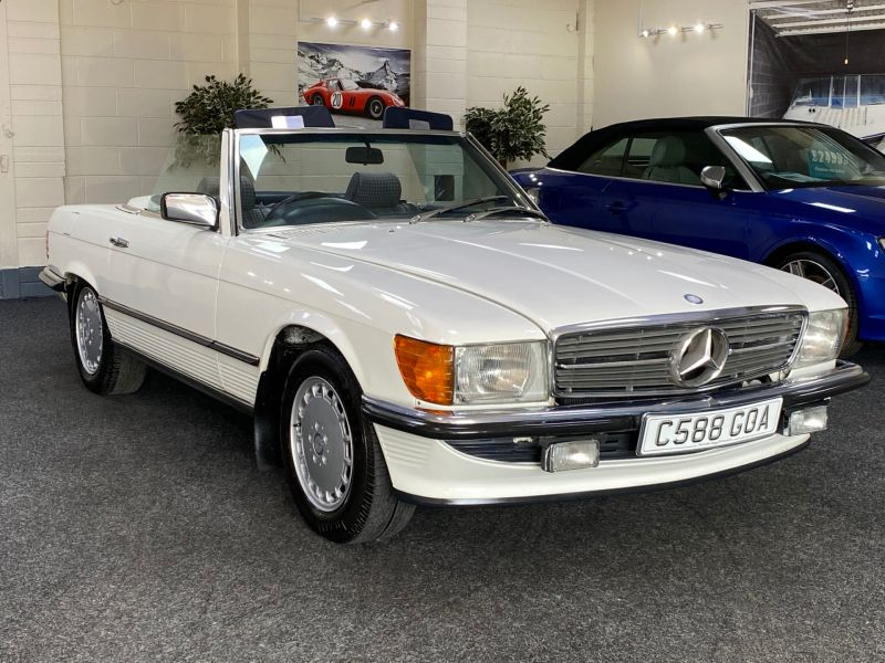 Used MERCEDES SL in Cardiff for sale