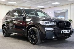 BMW X5 XDRIVE 30D M SPORT + IMMACULATE + SAPPHIRE BLACK WITH COGNAC DAKOTA LEATHER +  - 1777 - 1