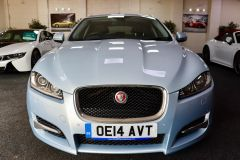 JAGUAR XF D V6 S PREMIUM LUXURY SPORTBRAKE + IMMACULATE + LOW MILES + BIG SPECIFICATION + ALEUTIAN SILVER + - 1714 - 4