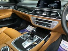 BMW 7 SERIES 740D XDRIVE M SPORT + SUNROOF + COGNAC EXCLUSIVE LEATHER + - 1422 - 38