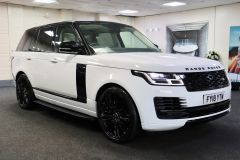 LAND ROVER RANGE ROVER TDV6 VOGUE + GLASS ROOF + IVORY LEATHER + 22 INCH ALLOYS +  - 1786 - 1