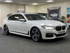 BMW 7 SERIES 740D XDRIVE M SPORT + SUNROOF + COGNAC EXCLUSIVE LEATHER + - 1422 - 1