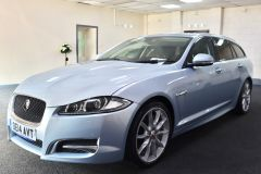 JAGUAR XF D V6 S PREMIUM LUXURY SPORTBRAKE + IMMACULATE + LOW MILES + BIG SPECIFICATION + ALEUTIAN SILVER + - 1714 - 5