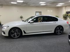 BMW 7 SERIES 740D XDRIVE M SPORT + SUNROOF + COGNAC EXCLUSIVE LEATHER + - 1422 - 7
