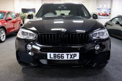 BMW X5 XDRIVE 30D M SPORT + IMMACULATE + SAPPHIRE BLACK WITH COGNAC DAKOTA LEATHER +  - 1777 - 4