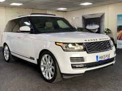 LAND ROVER RANGE ROVER SDV8 AUTOBIOGRAPHY + WHITE WITH CREAM + BIG SPEC +  - 1664 - 1
