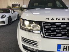 LAND ROVER RANGE ROVER SDV8 AUTOBIOGRAPHY + WHITE WITH CREAM + BIG SPEC +  - 1664 - 12