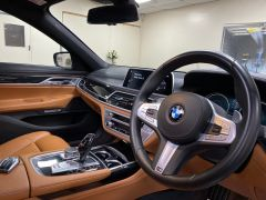 BMW 7 SERIES 740D XDRIVE M SPORT + SUNROOF + COGNAC EXCLUSIVE LEATHER + - 1422 - 3
