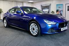 MASERATI GHIBLI D V6 + 1 OWNER FROM NEW + IMMACULATE + CREAM LEATHER +  - 1798 - 1
