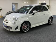 Fiat\Abarth 500 595 TURISMO + RED LEATHER + LOW MILES +  - 1584 - 6