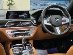 BMW 7 SERIES 740D XDRIVE M SPORT + SUNROOF + COGNAC EXCLUSIVE LEATHER + - 1422 - 24