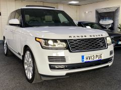 LAND ROVER RANGE ROVER SDV8 AUTOBIOGRAPHY + WHITE WITH CREAM + BIG SPEC +  - 1664 - 4