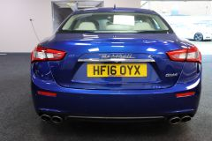 MASERATI GHIBLI D V6 + 1 OWNER FROM NEW + IMMACULATE + CREAM LEATHER +  - 1798 - 8