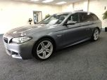 BMW 5 SERIES 520D M SPORT TOURING + DAKOTA LEATHER + DAB + CRUISE + - 1247 - 6