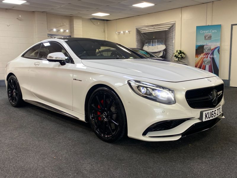 Used MERCEDES S63 AMG in Cardiff for sale