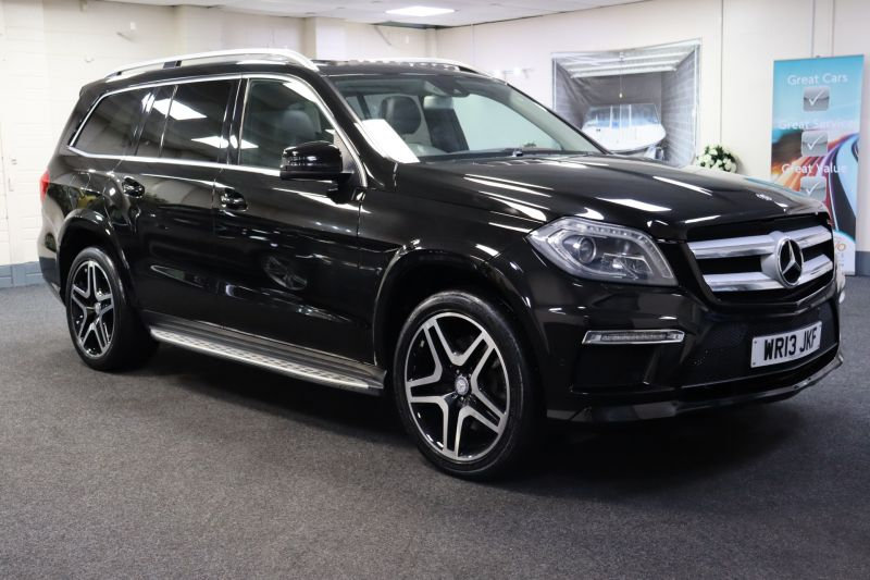 Used MERCEDES GL-CLASS in Cardiff for sale