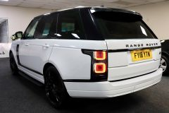 LAND ROVER RANGE ROVER TDV6 VOGUE + GLASS ROOF + IVORY LEATHER + 22 INCH ALLOYS +  - 1786 - 8