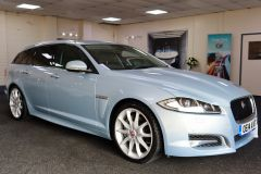JAGUAR XF D V6 S PREMIUM LUXURY SPORTBRAKE + IMMACULATE + LOW MILES + BIG SPECIFICATION + ALEUTIAN SILVER + - 1714 - 1