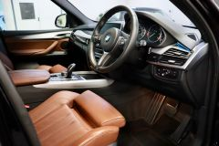 BMW X5 XDRIVE 30D M SPORT + IMMACULATE + SAPPHIRE BLACK WITH COGNAC DAKOTA LEATHER +  - 1777 - 2