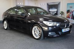 BMW 5 SERIES 520D M SPORT GRAN TURISMO + PANORAMIC GLASS ROOF + IVORY LEATHER +  - 1760 - 12