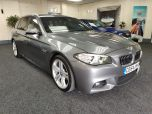BMW 5 SERIES 520D M SPORT TOURING + DAKOTA LEATHER + DAB + CRUISE + - 1247 - 3